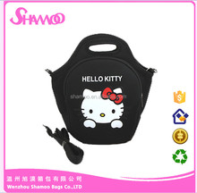 Sublimation 4mm kids neoprene lunch cooler bag