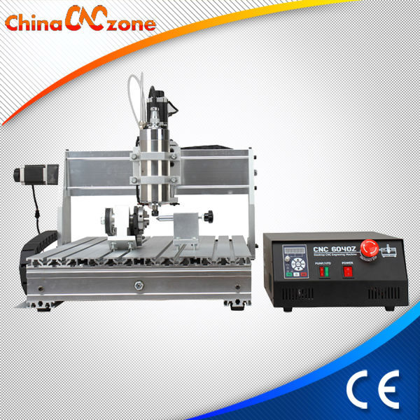 Factory Promotion New Design Mini CNC router 4060 4 Axis