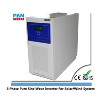 48V 96V 1KW to 30KW 3 Phase Pure Sine Wave Inverter For Solar/Wind System
