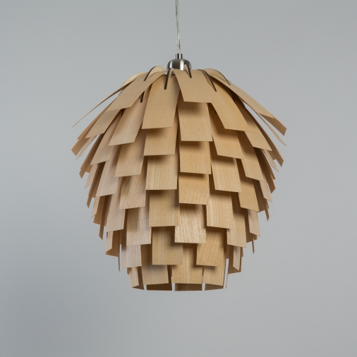 Nordic Vintage wooden pendant light Scots Light pine cone wooden chandelier china