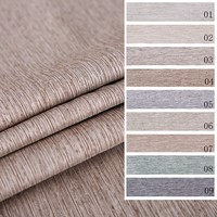 New design hot selling plain and classical style most popular 3 layer polyester waterproof curtains