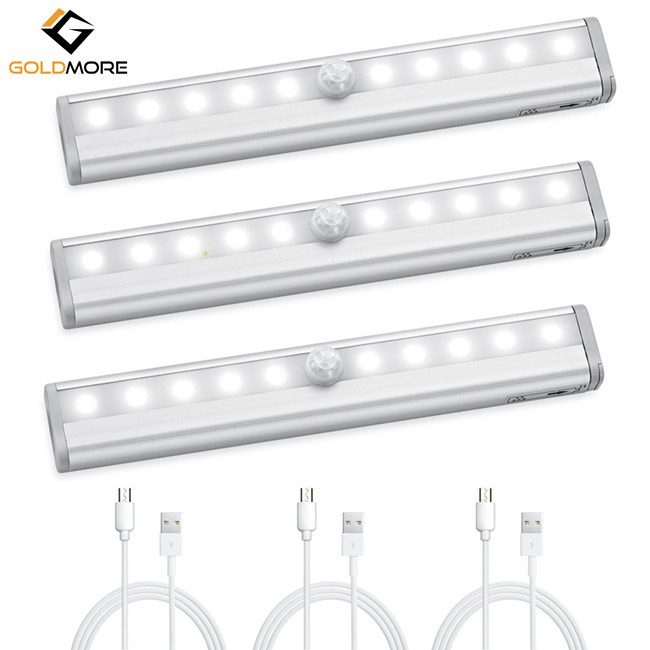 10 LED Hot Sale Motion Sensing Closet Lights