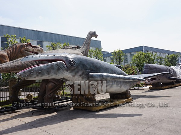 Animatronic Whale Life-Size Animal Sculpture