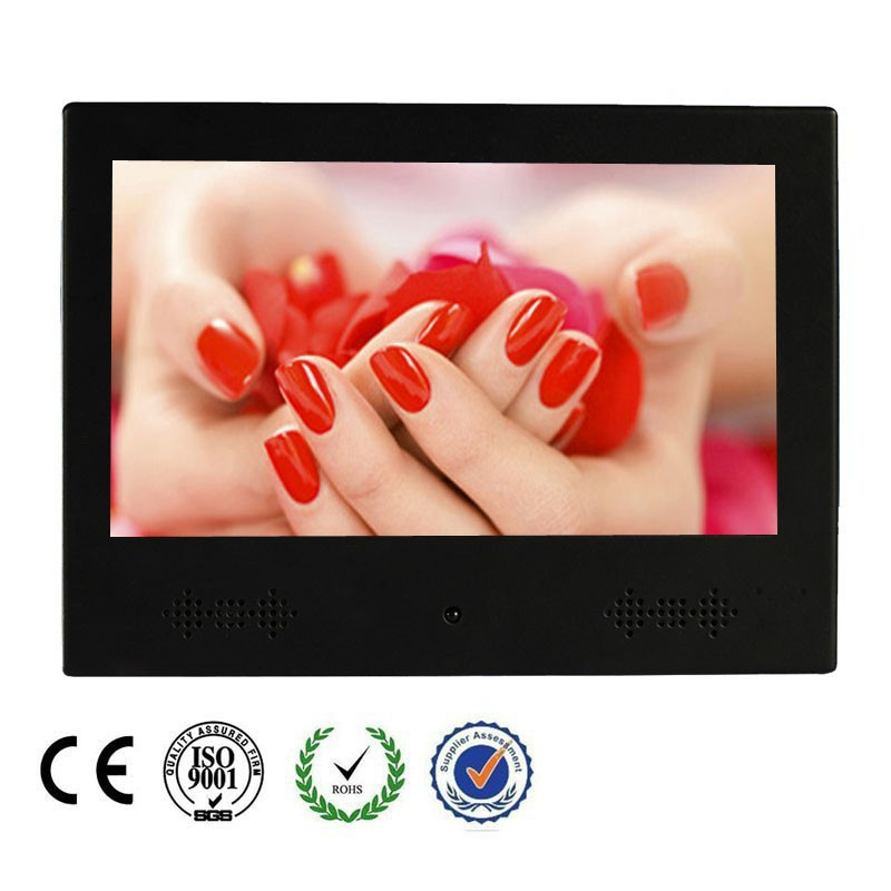 "7"" Wall Mount Interactive Digital LED Advertising Media Monitor"