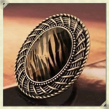 2015 fashion antique chunky jewellery rings fashion artificial jewellery rings(QYR-006)