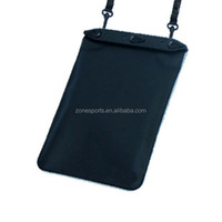 For tablet PC Sport Waterproof Bag Case,Eco-friendly soft tpu waterproof bag for mini tablet with string