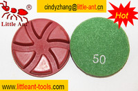 grit 50 marble hand polishing machine , marble resin flooring pad for concrete repair , terrazzo floor polishing disc