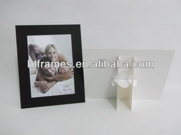 Acid free Folding paper photo frame 4x6 5x7