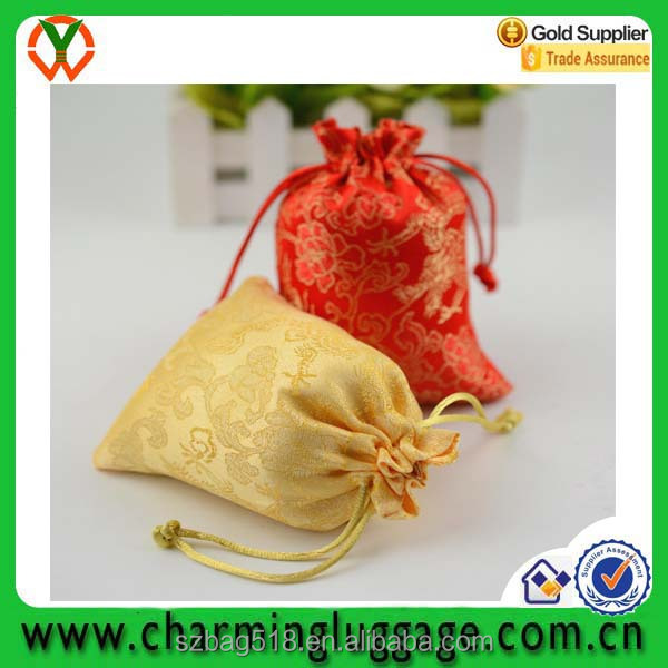 organza small cheap drawstring promotional fabric gift bag manufactureres
