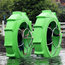 Kinplay brand hot selling attractive high quality water bike pedal boat