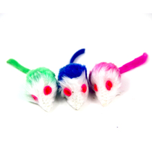 Colorful Normal Plush Mouse Cat Toys Light Mouse <strong>Pet</strong> Playing