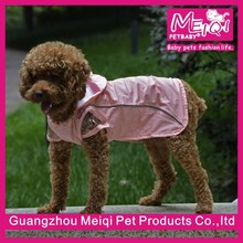 wholesale cheap big dog clothes raincoat fashion dog raincoat manufacturer