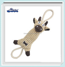 Hot sale plush pet crochet toy for dogs and puppies