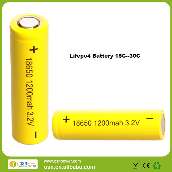 18650 3.2v 1200mah for airsoft gun battery pack
