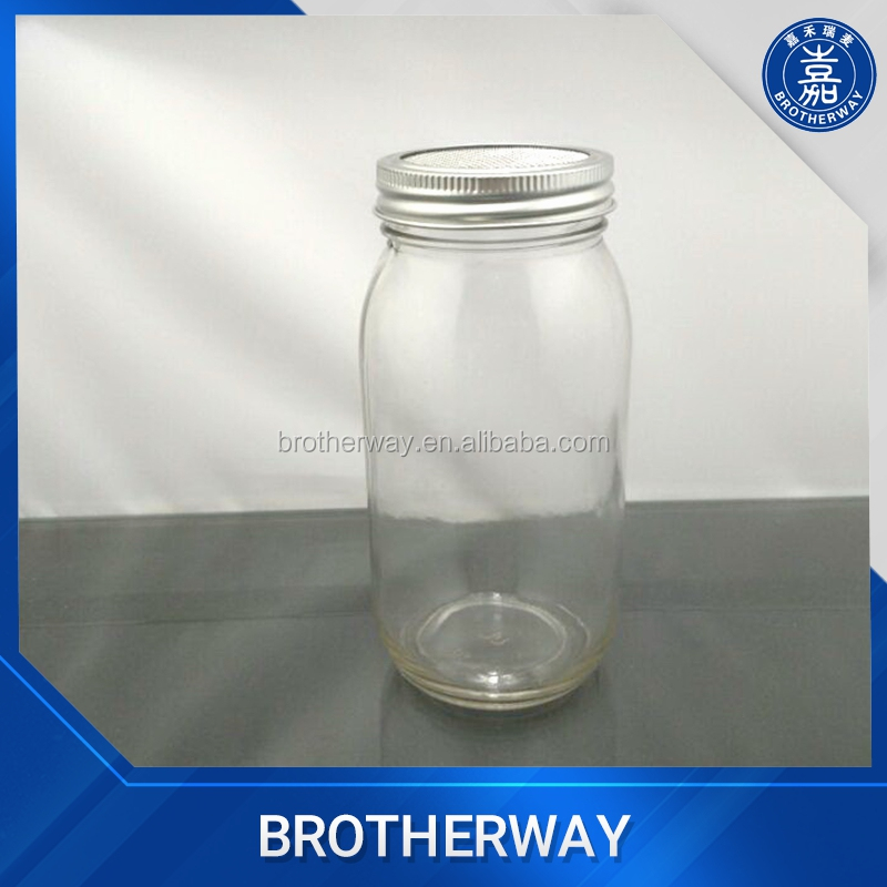 750ml mason jar with metal wire lid for tissue culture