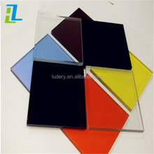 transparent colored thin heat resistant acrylic plastic sheet