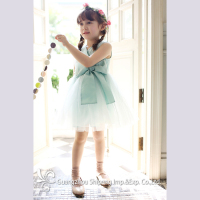 2015 new fashion design children wear beautiful party dress