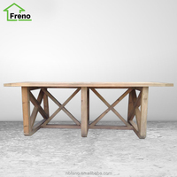 Solid Wood Furniture Reclaimed Elm Dining Table