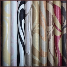Vinyl PVC home decor import wallpaper digital printing canvas wallpaper roll