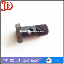 Carbon Steel Rubber Hose Fitting,Articulated Hydraulic Banjo Joint,Metric Bolt 700M