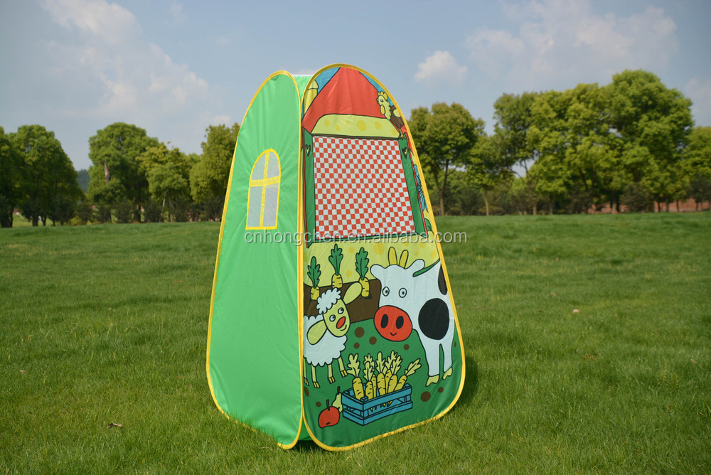 New design children play change clothes tent