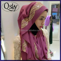 Popular chiffon hijab fashion arabic scarfs arab hijab sex