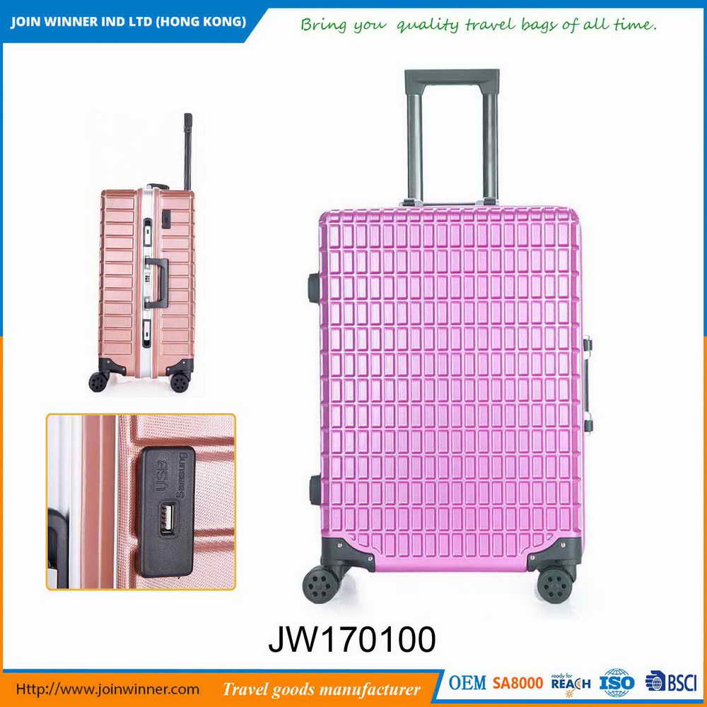 2017 Style Leopard Print Hard Suitcase For Factory Hot Sales