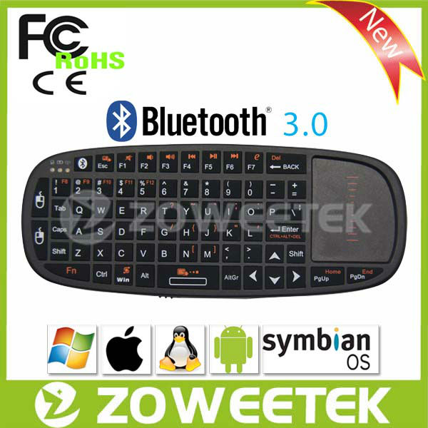 Smart TV Keyboard Bluetooth Keyboad With Skype Telephone