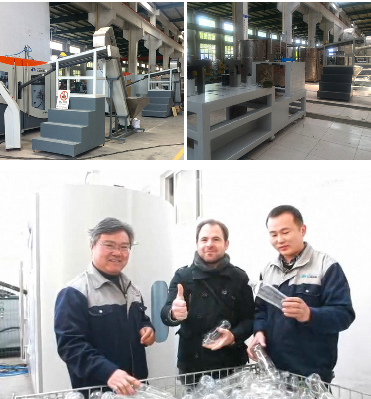 High speed low price mini single stage pet bottle stretch small extrusion plastic blow moulding machine with CE