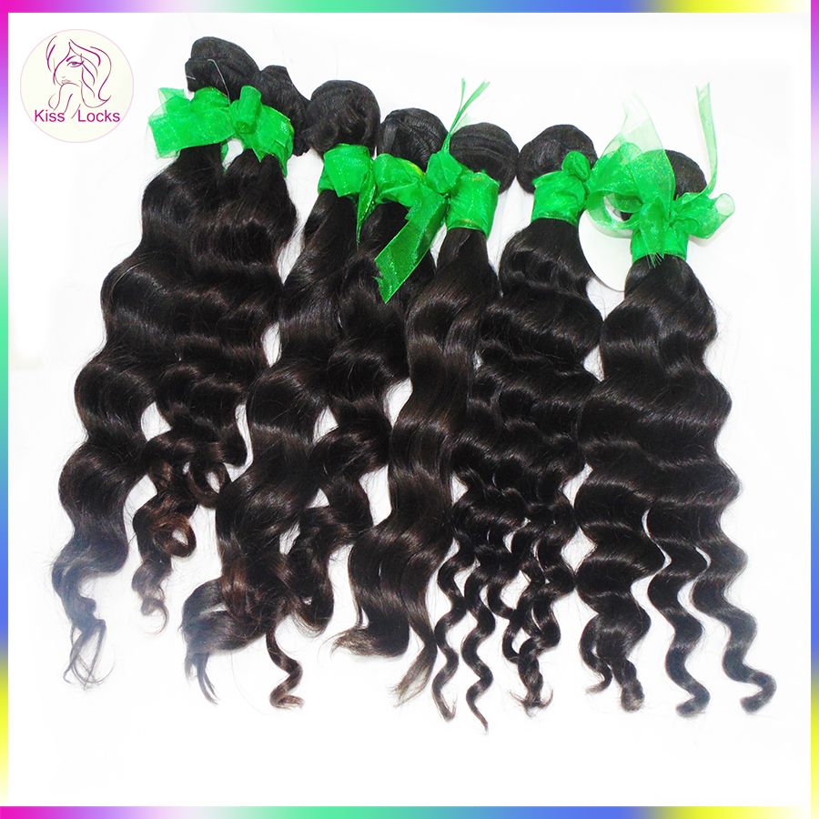 No Acid Wash 100% Raw Virgin Cambodian Hair 10A Loose deep waves Spiral Curl Ali Wholesale