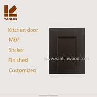 coffee color mdf laminate kitchen cabinet door