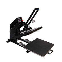 Magnetic auto open cheapest sports wear t shirts heat press printing machine