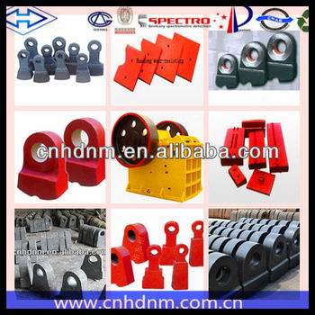impact crusher spare parts,crusher hammer