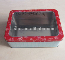 gift box with transparent window manufacture