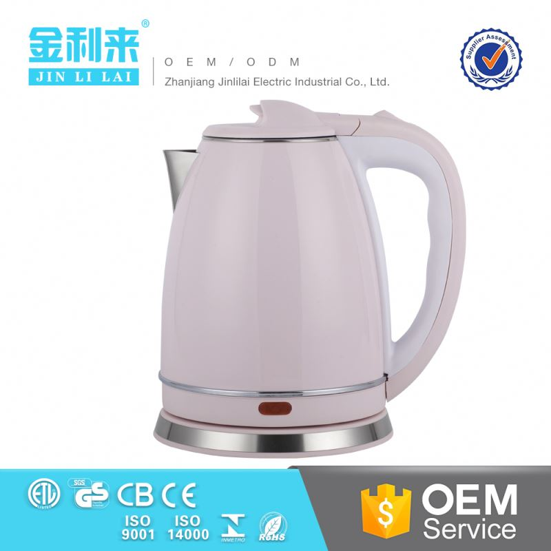 Canton fair quality product 1500W mini cordless coffee kettle