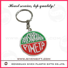 Promotional 3d soft pvc keyrings