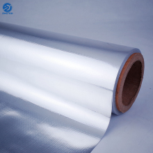 Metallized aluminum foil pet film laminated woven fabric
