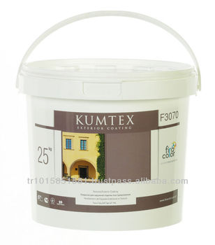 Kumtex Acrylic emulsion based, long life side coating.