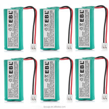 EBL Wholesale Price Best Selling 18650 LI-ION Battery 2.4V 800mAh Rechargeable Battery For Kids Electric Scooter Car