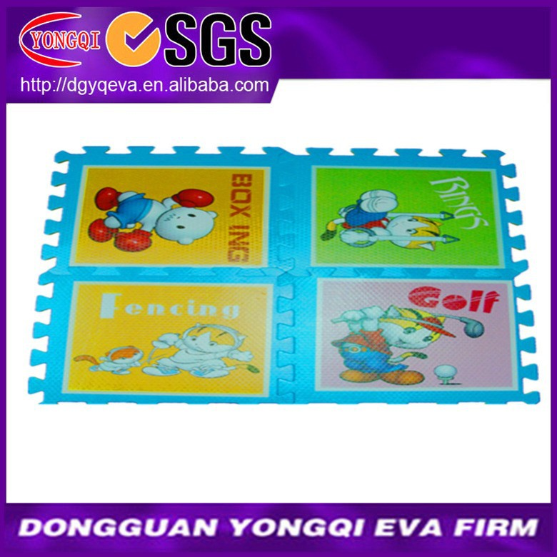 Cartoon Thermal Transfer Mat for Kids Playing
