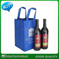 Modern hot sell cotton shopper bag custom wine bag