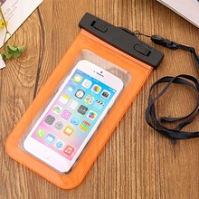 Universal Clear Transparent Waterproof Swimming Cellphone Case Cover Bag
