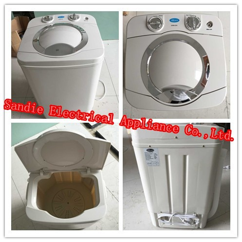 home appliances mini semi automatic 4kg single tub washing machine without dryer