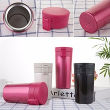 Stainless Steel Vacuum Flask 370ml Car Thermos Cup Coffee Milk Travel Mug ,thermo milk bottle , mini coffee cup