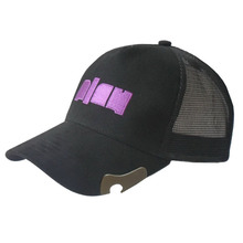 Wholesale custom mens embroidery bottle opener baseball cap
