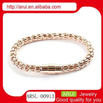 2014 new popular bracelet for gold jewelry