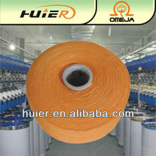 open end recycled 100% cotton yarn for rope with hair