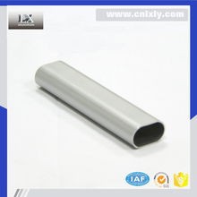NBLX Free sample available oval aluminum tubing,durable aluminum extrusion enclosure,customized anodized aluminum pipe