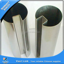 304 stainless steel groove pipe with high quality