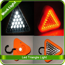 Triangle Light mode first 24 red LED, Second 15 white LED, Third 24 RED Flash, Fourth Off Warnning Light